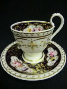 Beautiful RIDGWAY Regency coffee cup and saucer